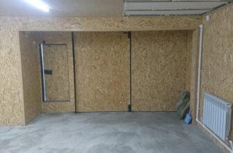 Как утеплить гараж изнутри